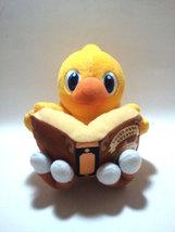"Final Fantasy ""Chocobo Reading Magic Book"" Plush / UFO Catcher * Anime - $14.88"