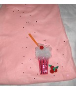 Milk Shake Poodle Skirt Appliqué Elements with Rhinestone and Sequin Acc... - $15.99