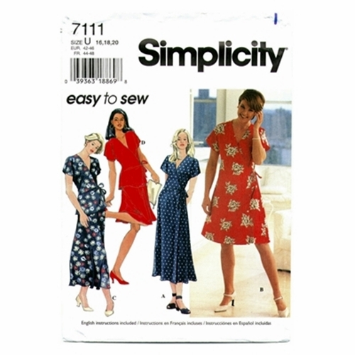 7609 Simplicity Pattern Design Your Own Dress UNCUT