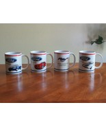 4 Officially Licensed FORD MUSTANG Mug Cup 1999 Coupe 2014 GT 1972 Sprin... - $21.99