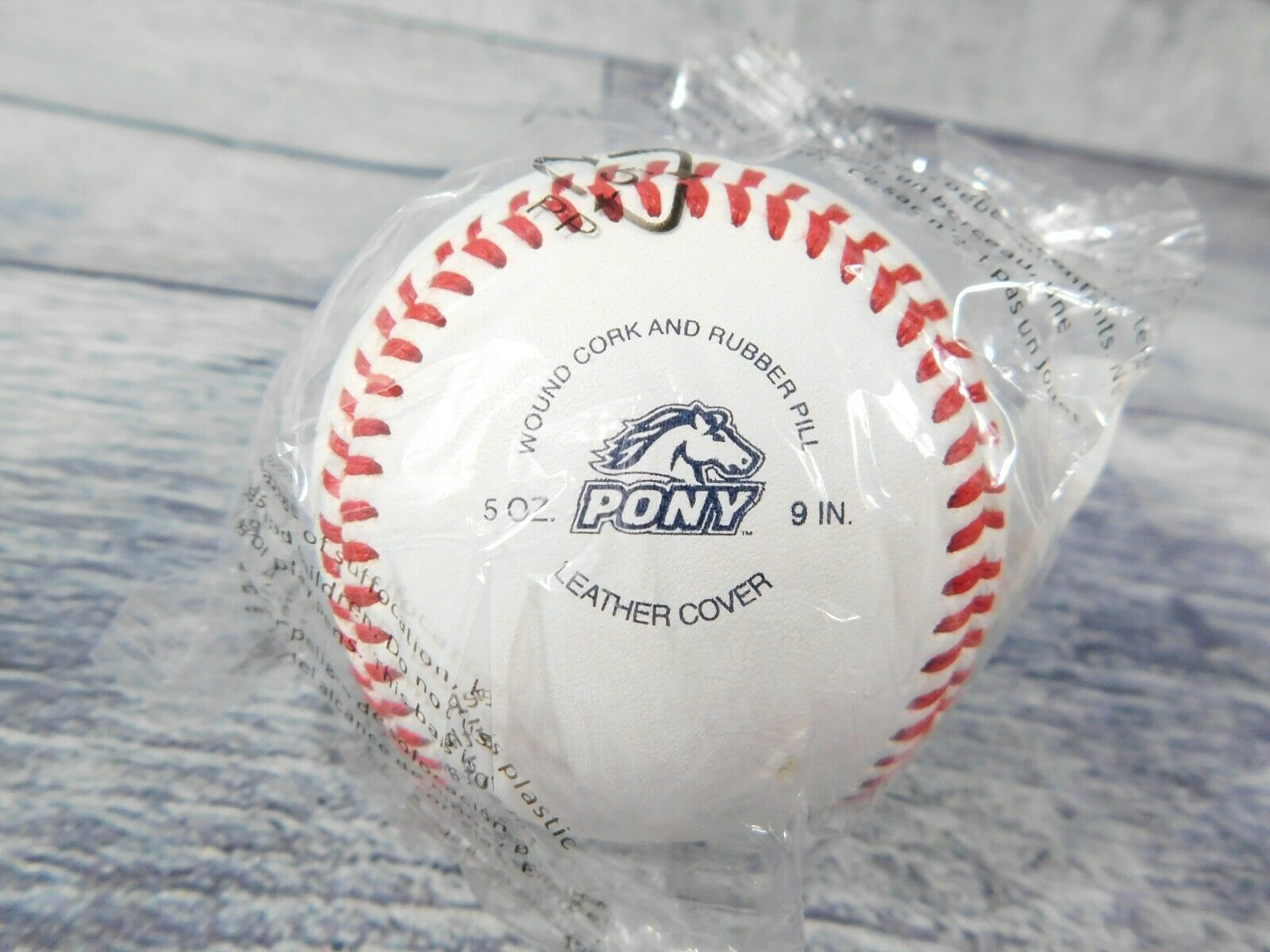 Primary image for Rawlings Official Pony Baseball RPLB1 Baseball 5oz and 9in