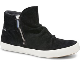 Keds WH57346 Women's Midtown Suede Black Boot Sneaker Size 6