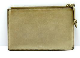 e4dd987cf Fossil Medium Size Women Leather Pouch Wallet Purse Gold - $21.67