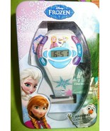 Disney Frozen digital watch Elsa, Anna & Olaf Kids & Mood Reader with Gi... - $11.57