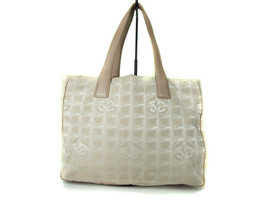 Authentic CHANEL Travel line Canvas, Leather Pinks Tote Bag CT9073L - $175.00