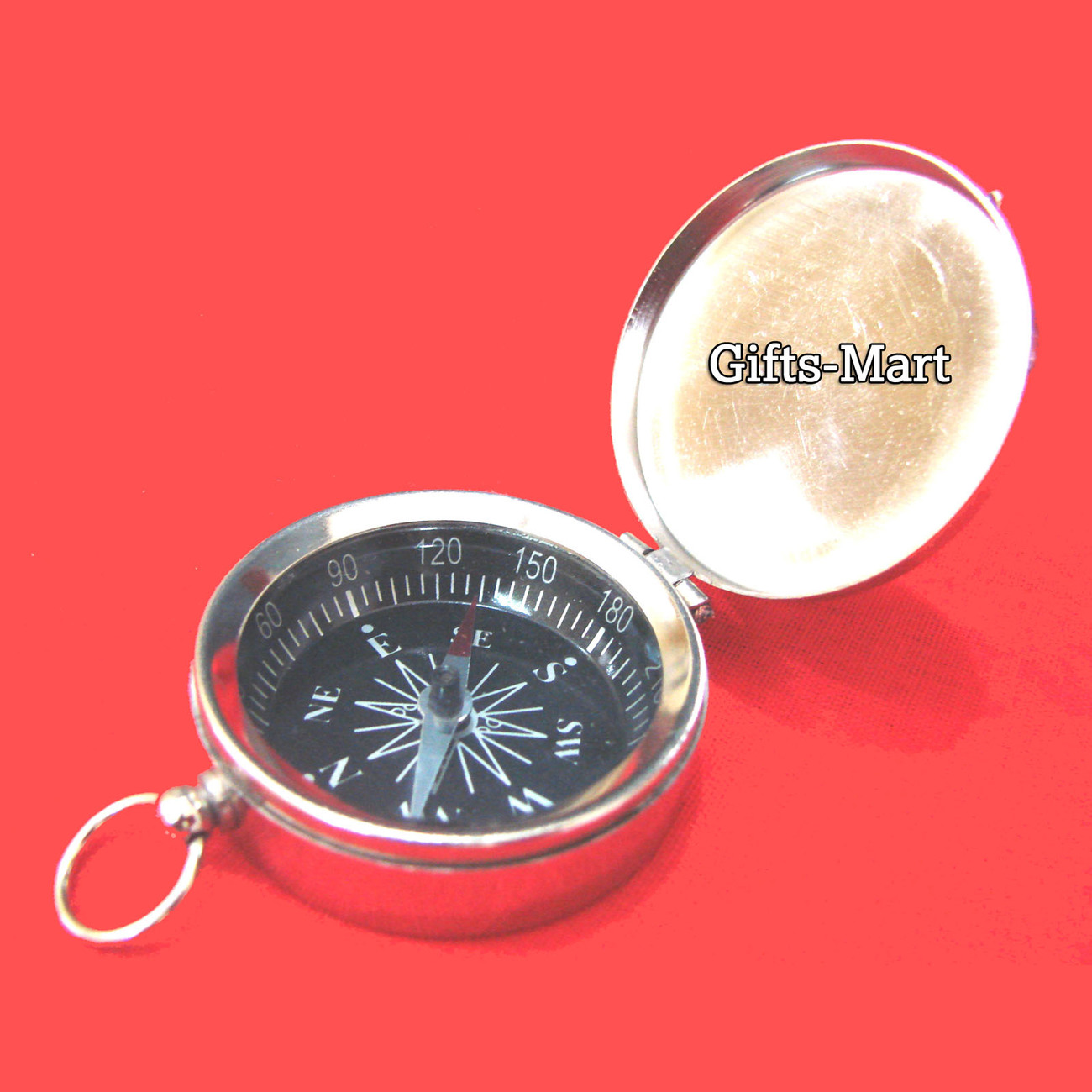 Compass lid silver