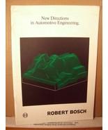 New Directions in Automotive Engineering Robert Bosch - $22.49