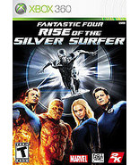 Fantastic 4 Four Rise Of The Silver Surfer Xbox 360 Disc ONLY in Generic... - $7.77
