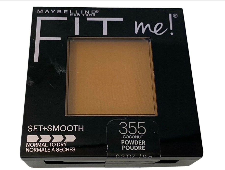 Maybelline Fit Me Set+Smooth Powder, 355 Coconut, Normal/Dry; New - $7.69