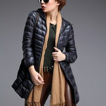 Thin Hooded Packable Women Parka Jackets - $55.00