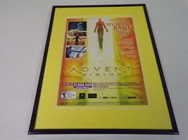 Advent Rising 2005 XBox Framed 11x14 ORIGINAL Vintage Advertisement - $34.64
