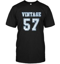 Vintage 1957 Tee 60th Birthday Gift T Shirt - $17.99+