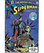 The Adventures of Superman Comic Book #465 DC Comics 1990 NEAR MINT UNREAD - $14.49