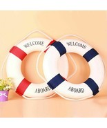 Life Buoy Nautical Style Aboard Boat Coffee Shop Restaurant Yard Wall De... - $8.90+
