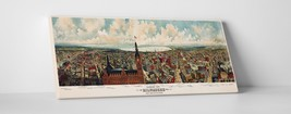"""Milwaukee Vintage Panoramic Gallery Wrapped Canvas Print. 45""""x16"""" or 30""""x16"""" - $52.66+"""