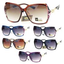 Womens Thin Plastic Rhinestone Arm Butterfly Fashion Diva Sunglasses - $12.95