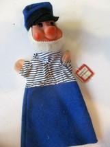 VTG Waltershausen Veb Spielwaren Sailor Hand Puppet Made IN GDR CZECHOSL... - $24.75