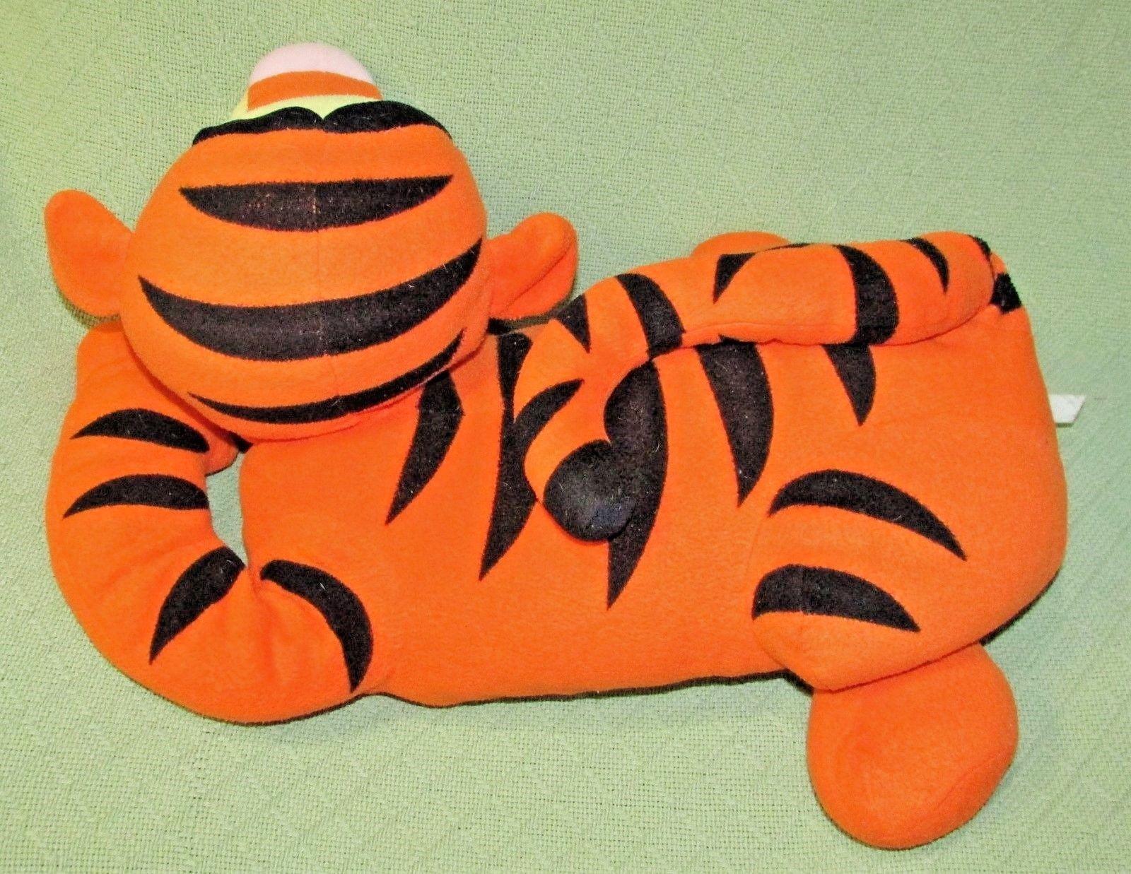"Disney LOUNGING TIGGER 22"" Stuffed Animal PILLOW Plush Winnie Pooh Friends Jumbo image 3"