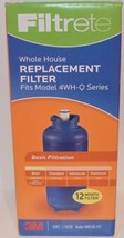 NEW FILTRETE WHOLE HOUSE REPLACEMENT FILTER 4WH-QS-F01 Quick Change - $30.84