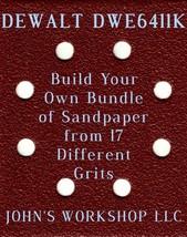 Build Your Own Bundle DEWALT DWE6411K 1/4 Sheet No-Slip Sandpaper - 17 Grits! - $0.99