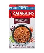 Zatarain's Red Bean & Rice Family Size, 12 oz Pack of 8 - $30.97