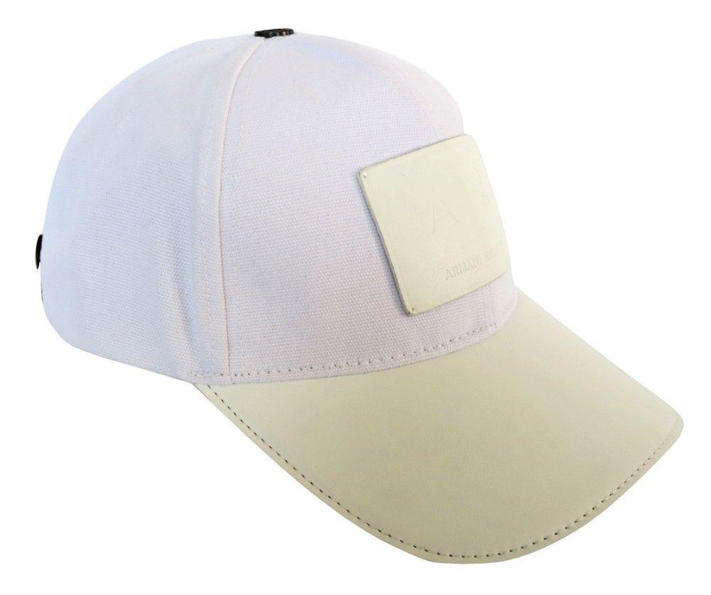 b24219391b7 10. 10. Previous. Armani Exchange AIX Logo Patch Trucker Full Back Hat Cap  in White BNWT. Armani Exchange ...