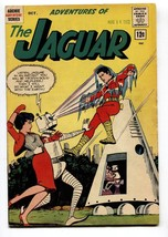 Adventures of the Jaguar #9 1962- Archie comics- Robot cover-  FN - $52.96