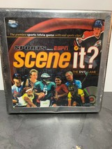 Scene it? Sports Powered by ESPN DVD Game in Metal Collector NEW Sealed ... - $19.86