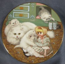Captive Audience Collector Plate Country Kitties Gre Gerardi Cat Kittens  - $21.95
