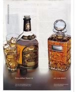 1995 Vintage Chivas Regal Premium Scotch Whisky Full Page Color Ad - Nea... - $4.99