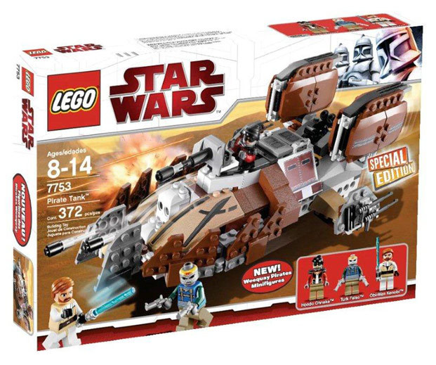 Lego star wars 7753 pirate tank a