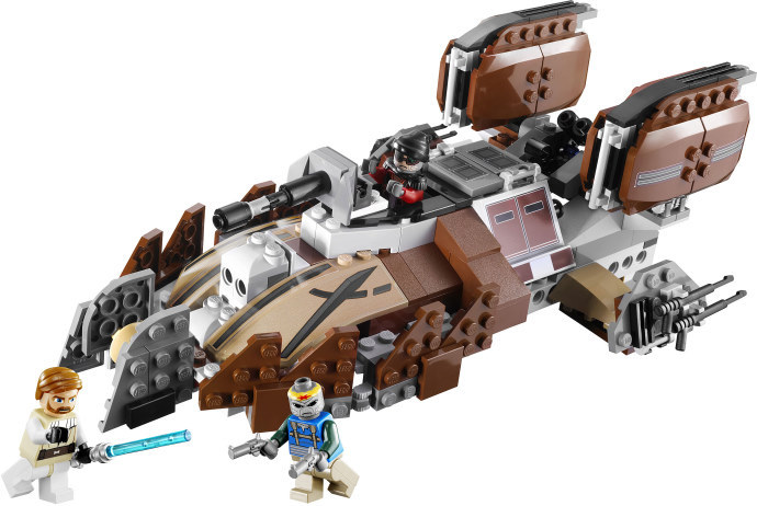 Lego Star Wars 7753 - Clone Wars Pirate Tank Set