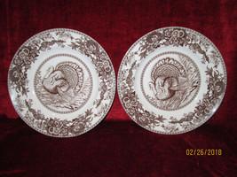 Spode Celebration Porcelain set of 2 dinner plates  - $52.59 CAD