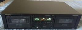 ONKYO Dual Stereo Cassette Tape Deck TA-RW311 No Remote - $89.09