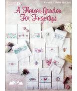 CROSS STITCH FLOWER GARDEN FOR FINGERTIPS - $3.00