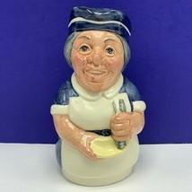 Royal Doulton Toby mug jug cup 1983 Miss Nostrom Nurse doultonville D6700 doctor - $64.30