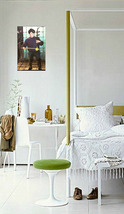 7 metro  music 3 in white four poster with lamp thumb200