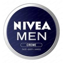 TOP NIVEA MEN CREAM  30 ml Face Body & Hands Moisturiser Dry Skin image 2