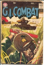G.I. Combat #81 1960-DC-WWII stories-greytone cover-G - $46.08