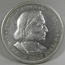 1893-P Columbian Exposition Chicago Half Dollar UNC PL Coin AD769 - $106.36