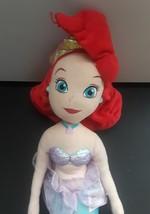 Disney Ariel Little Mermaid Princess Plush Doll Stuffed Animal 20 In Tall image 2