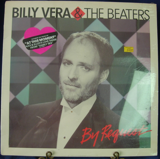 Billy Vera & The Beaters - By Request - Rhino RNLP 70858 - SEALED