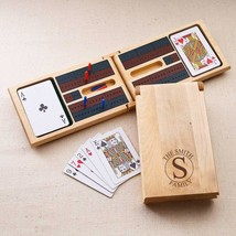 Personalized Wood Cribbage Game - $35.63