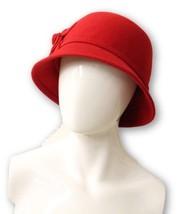 Nine West Women's Red Felt Hat NWT - $35.59
