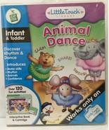 Little Touch LeapPad Frog Animal Dance Infant Toddler Interactive Book &... - $15.44