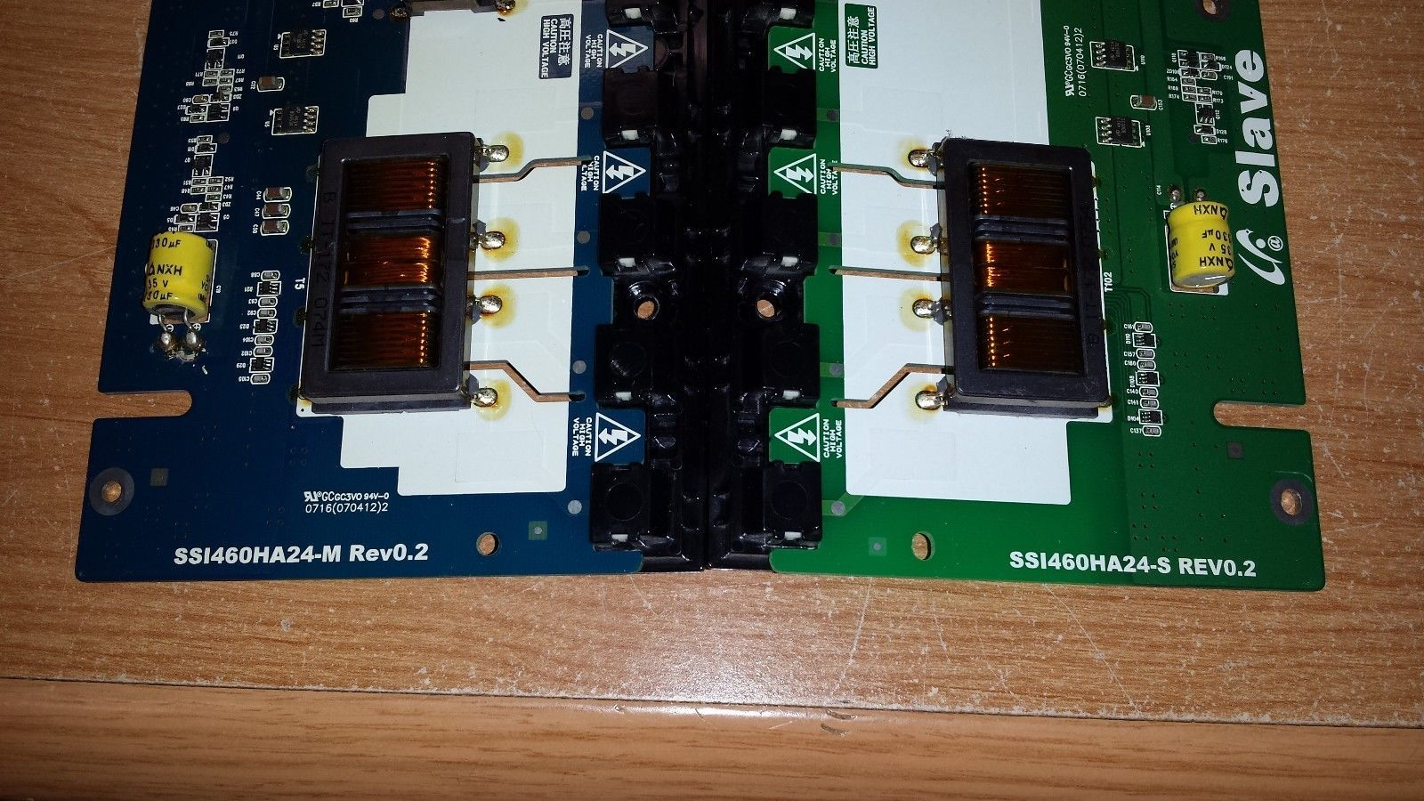 Toshiba 46LX177 - Backlight Inverter Set (Master & Slave) (SSI460HA24-M/S)