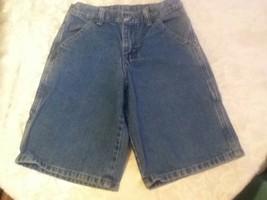 Boys - Size 8 Regular  - Wrangler -  blue carpenter denim shorts - $3.50