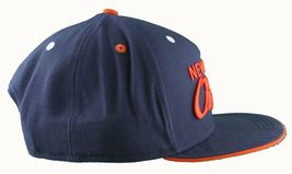 Flat Fitty New York On Top Navy Orange Wiz Khalifa Snapback Baseball Hat Cap NWT image 3