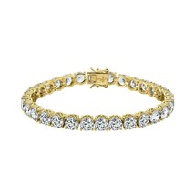 J'ADMIRE Yellow Gold Plated Sterling Silver 27.4 carats Swarovski Zircon... - $254.81