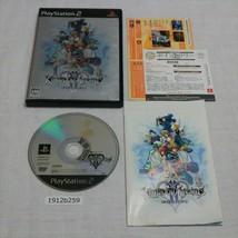Sony PS2 Kingdom Hearts II Funzionante Ntsc-J Giapponese 1912b259 - $8.96
